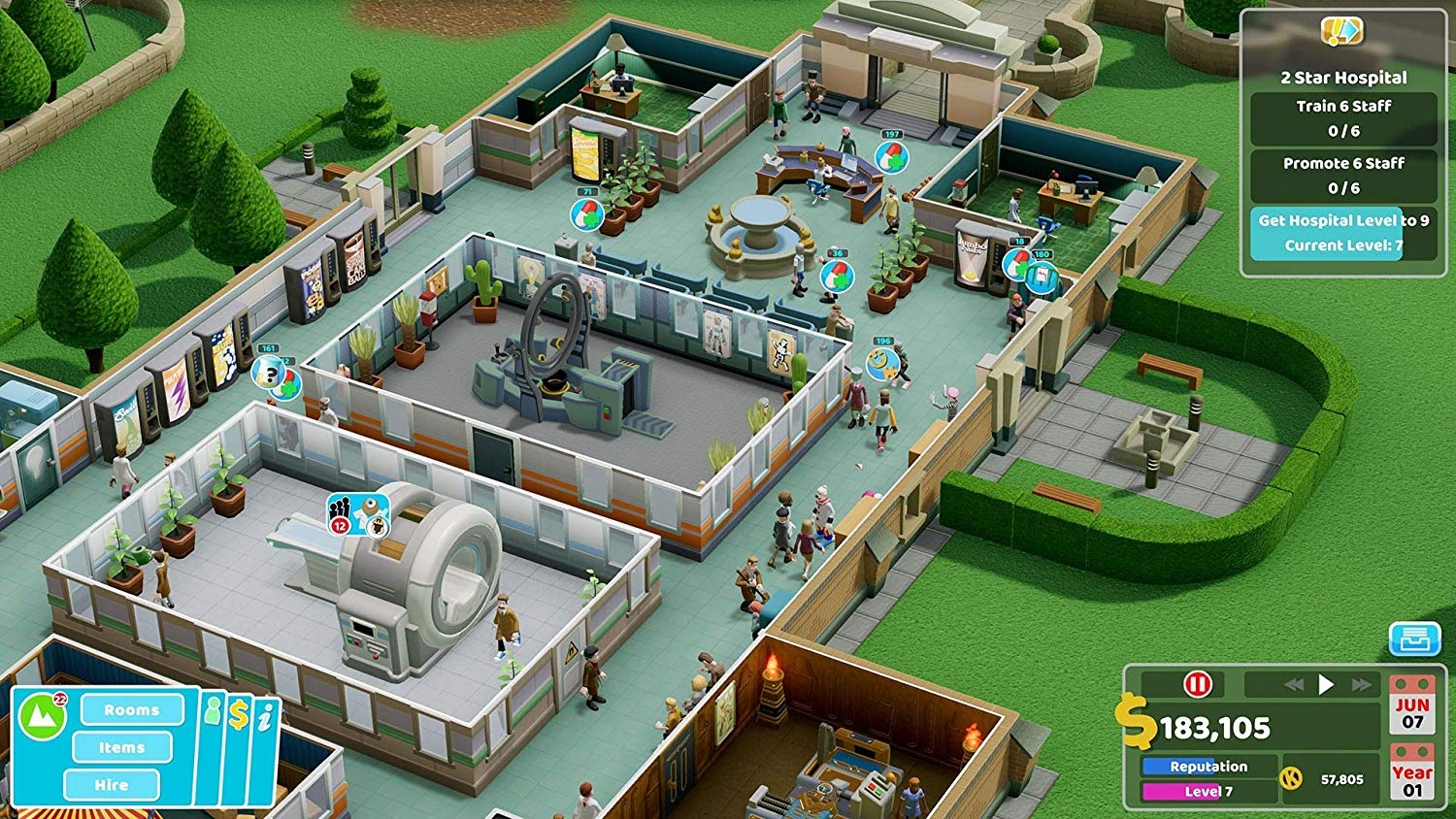 XBOXOne Two Point Hospital