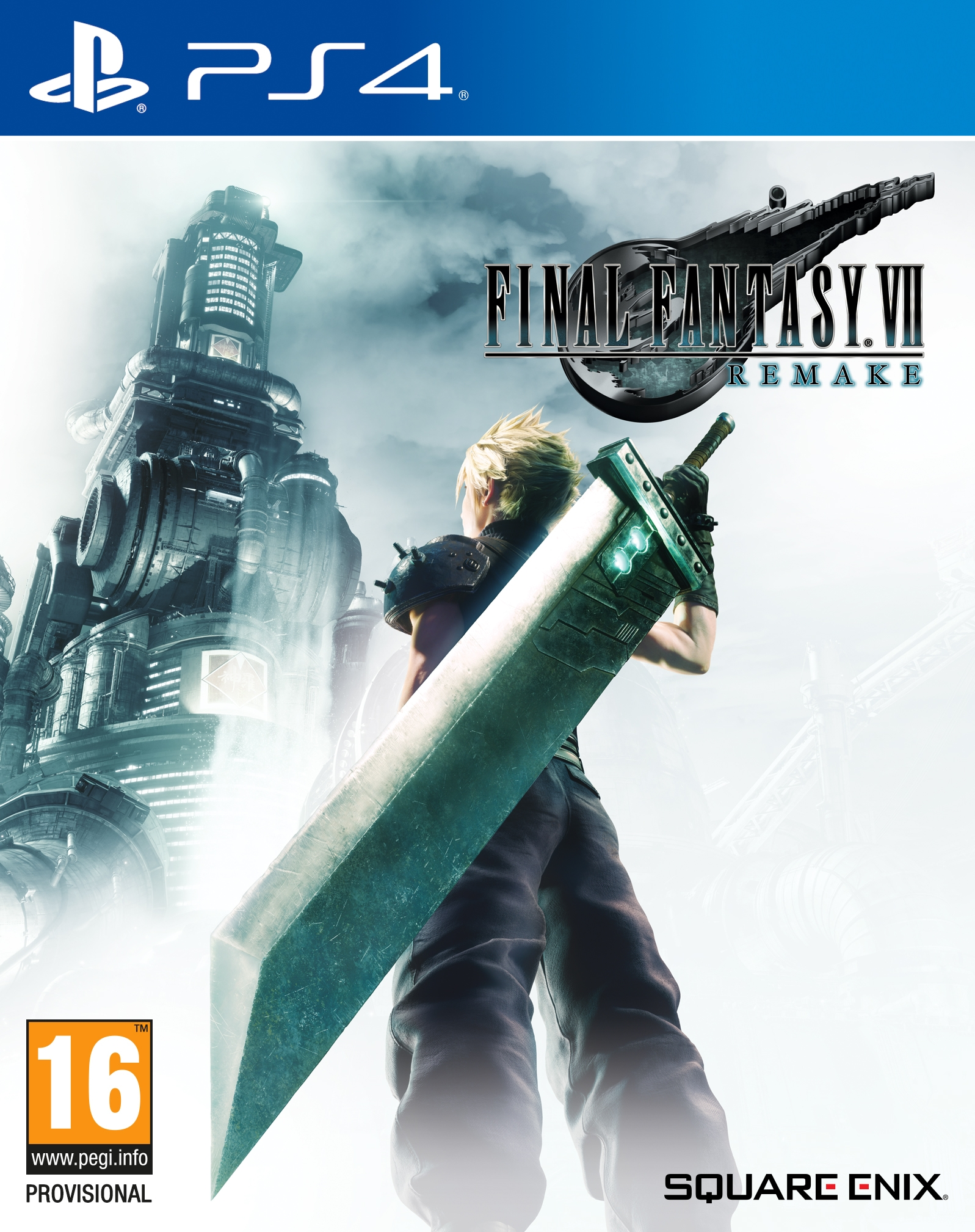 PS4 Final Fantasy VII Remake Deluxe Edition