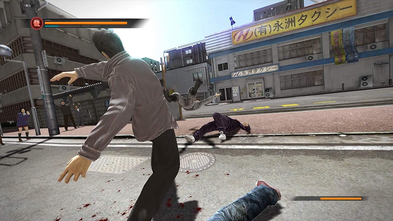 PS4 Yakuza Remastered Collection