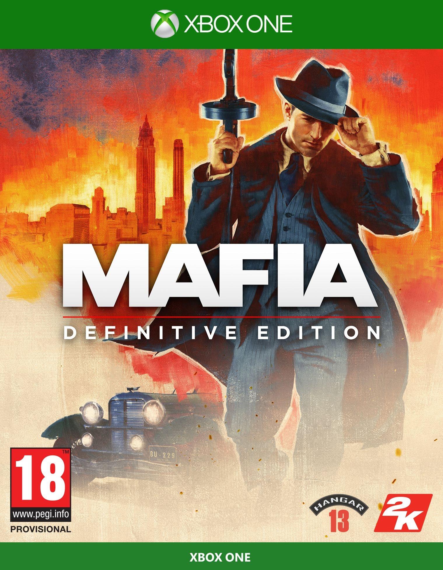 XBOXOne Mafia Definitive Edition