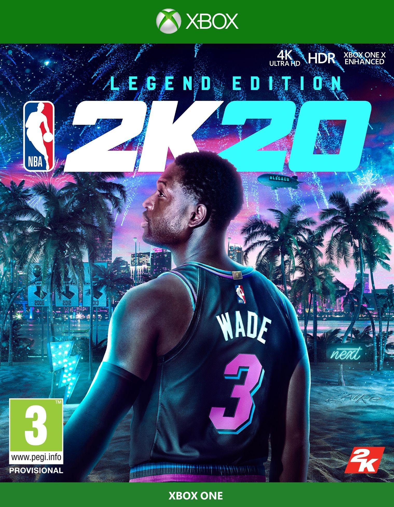 XBOXOne NBA 2K20 Legend Edition