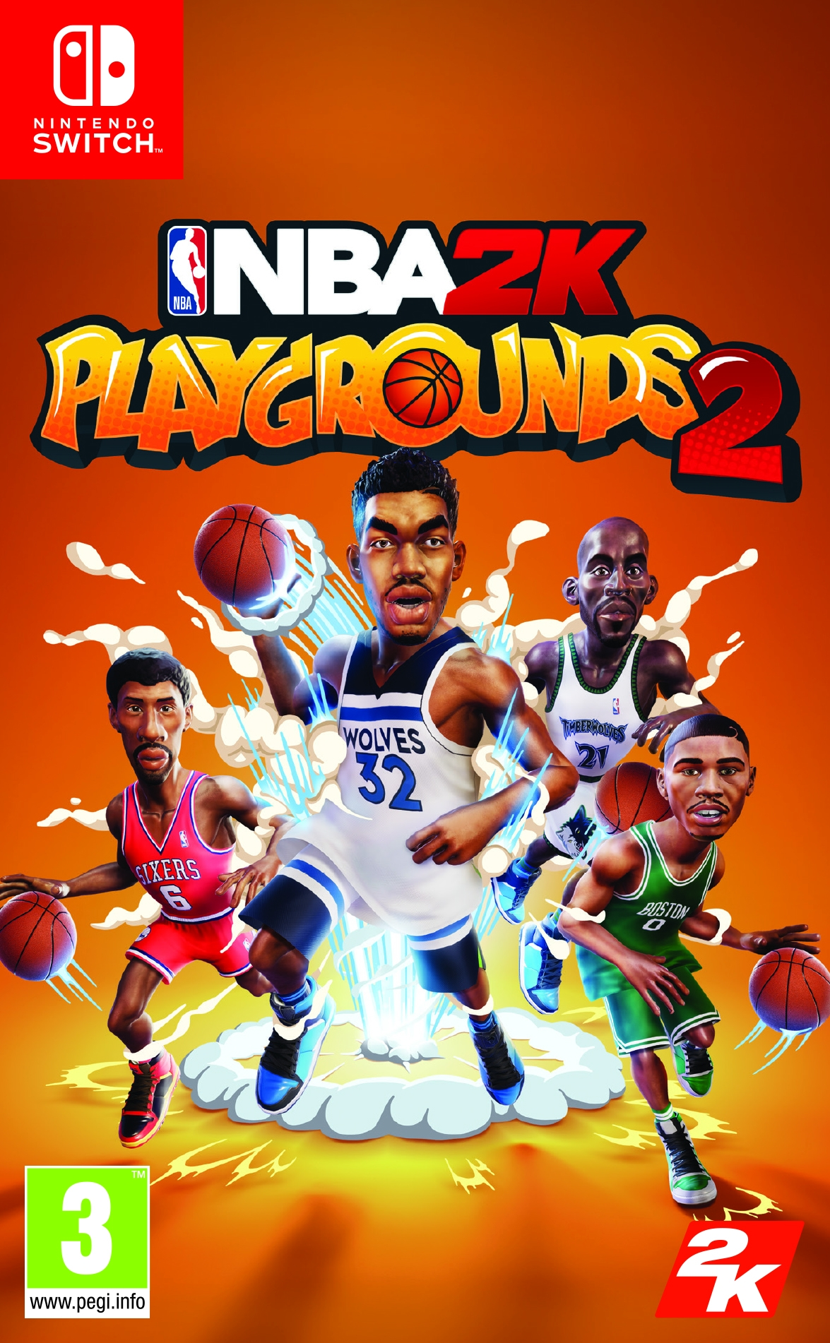 Switch NBA 2K Playgrounds 2