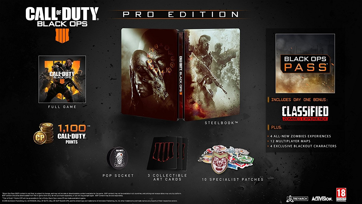 XBOXOne Call of Duty: Black Ops 4 Pro Edition