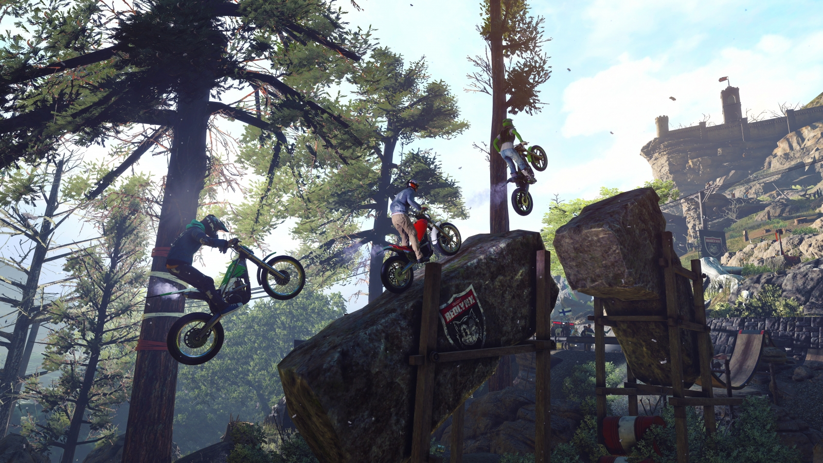 Switch Trials Rising Gold Edition