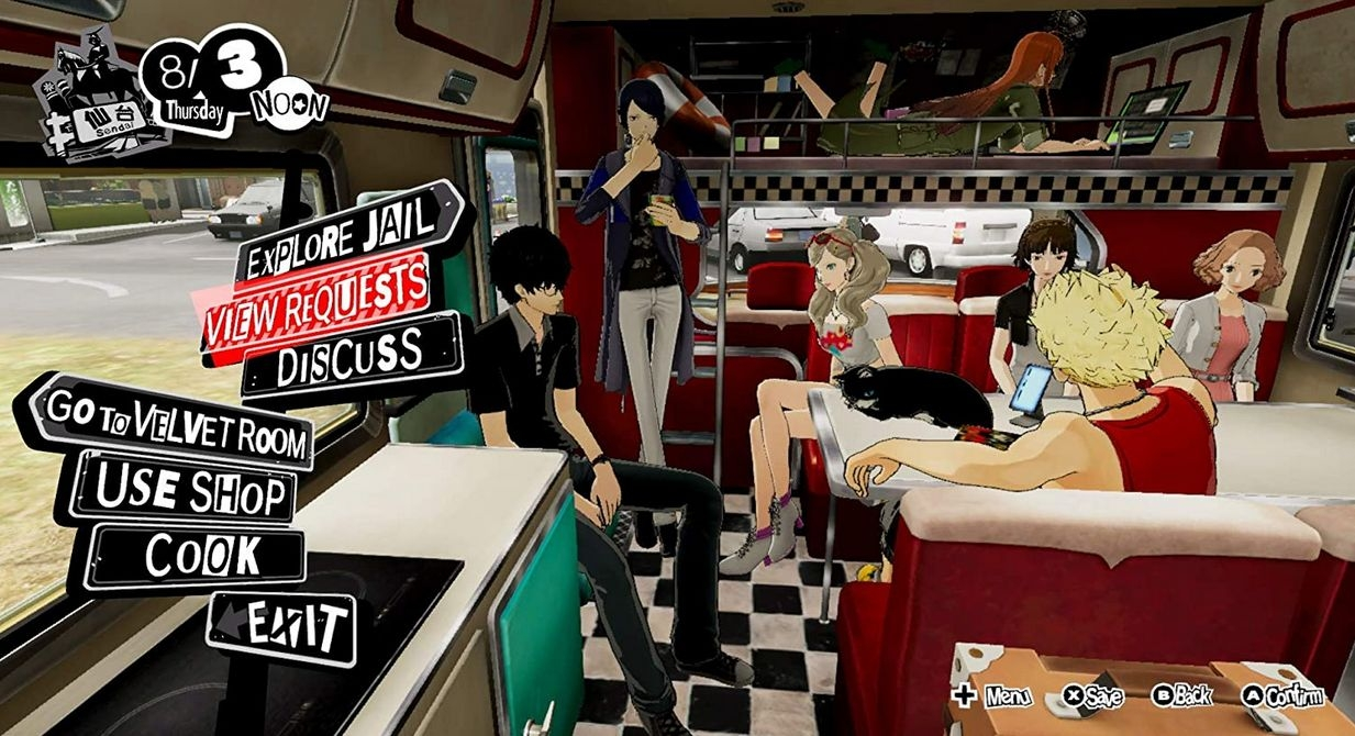 PS4 Persona 5 Strikers