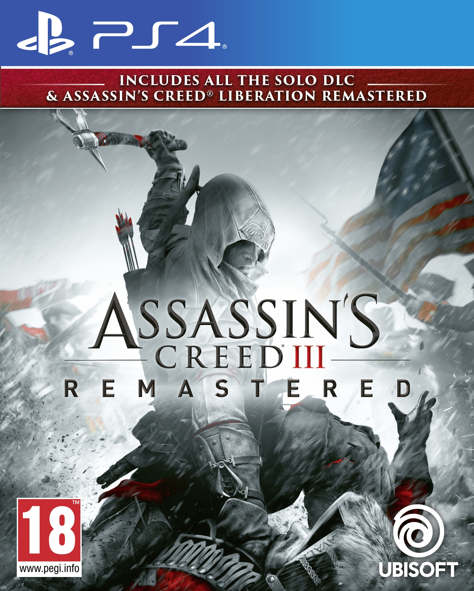 PS4 Assassin´s Creed 3 + Assassin´s Creed Liberation Remastered