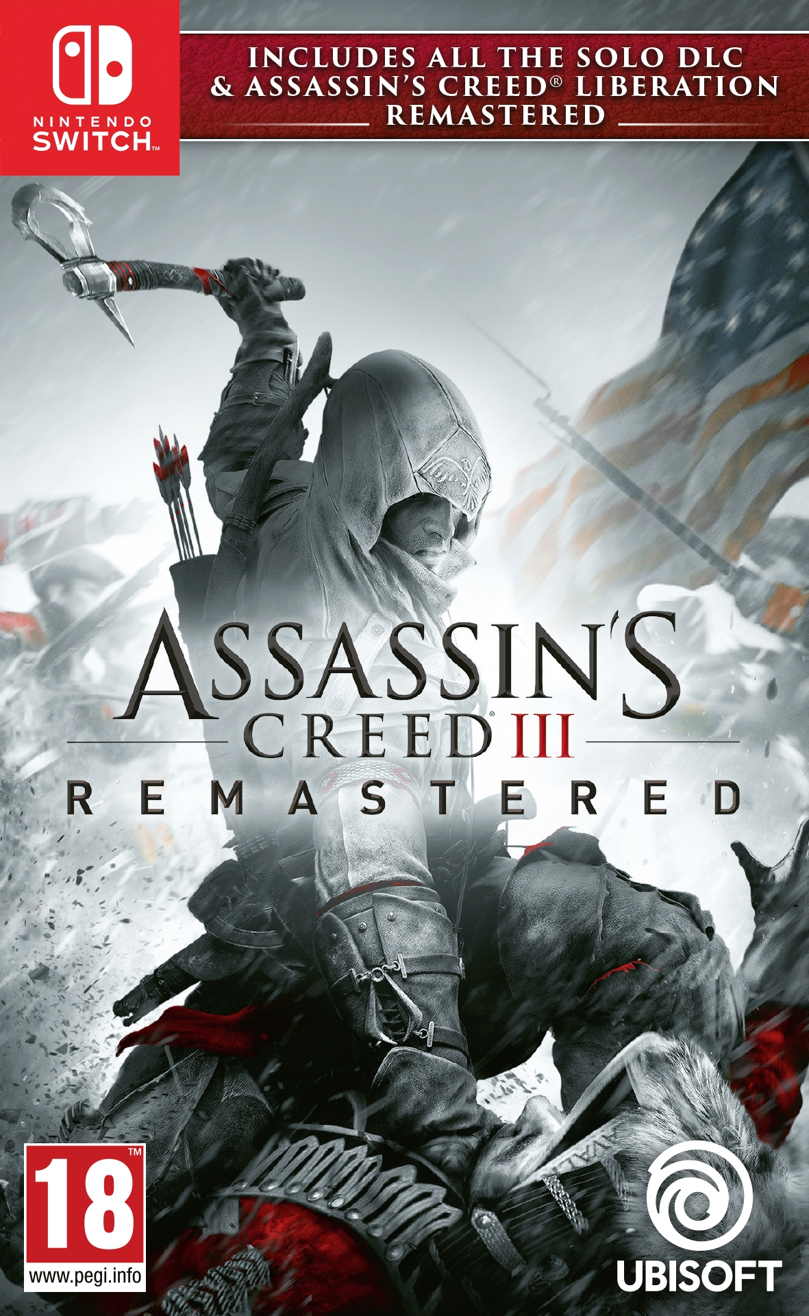 Switch Assassin´s Creed 3 + Assassin´s Creed Liberation Remastered