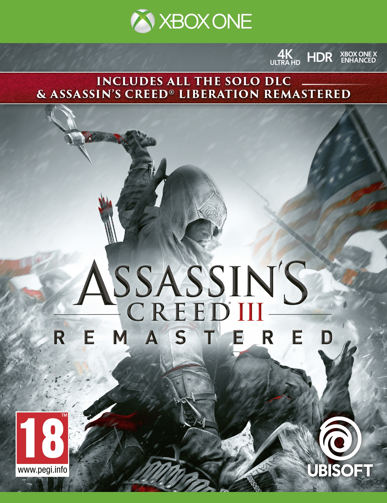 XBOXOne Assassin´s Creed 3 + Assassin´s Creed Liberation Remastered