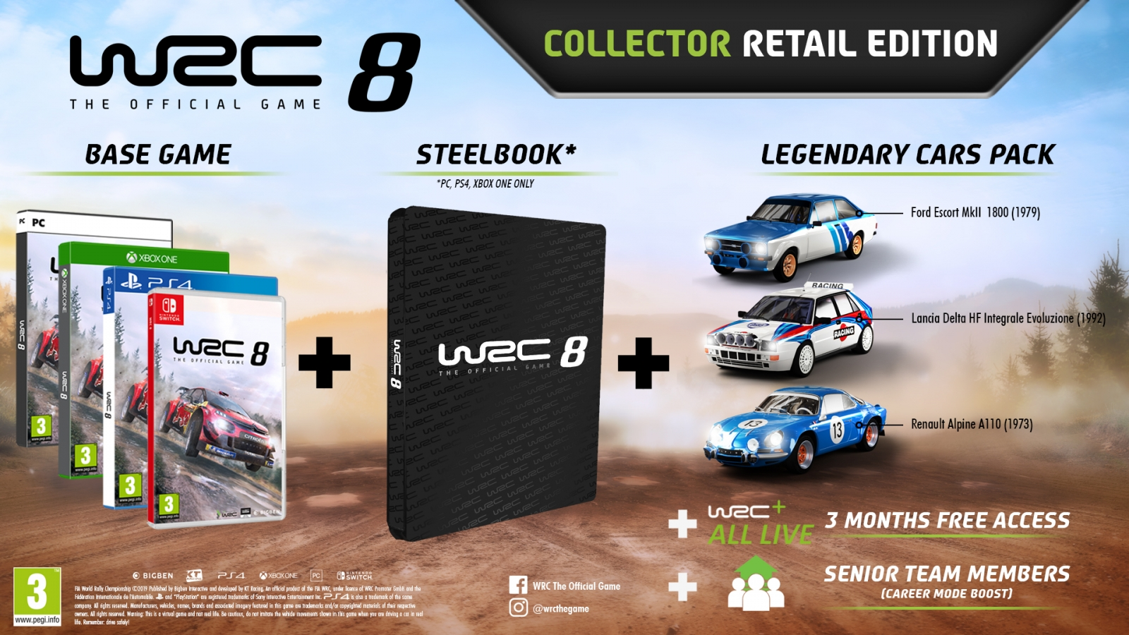 XBOXOne WRC 8 Collector Edition