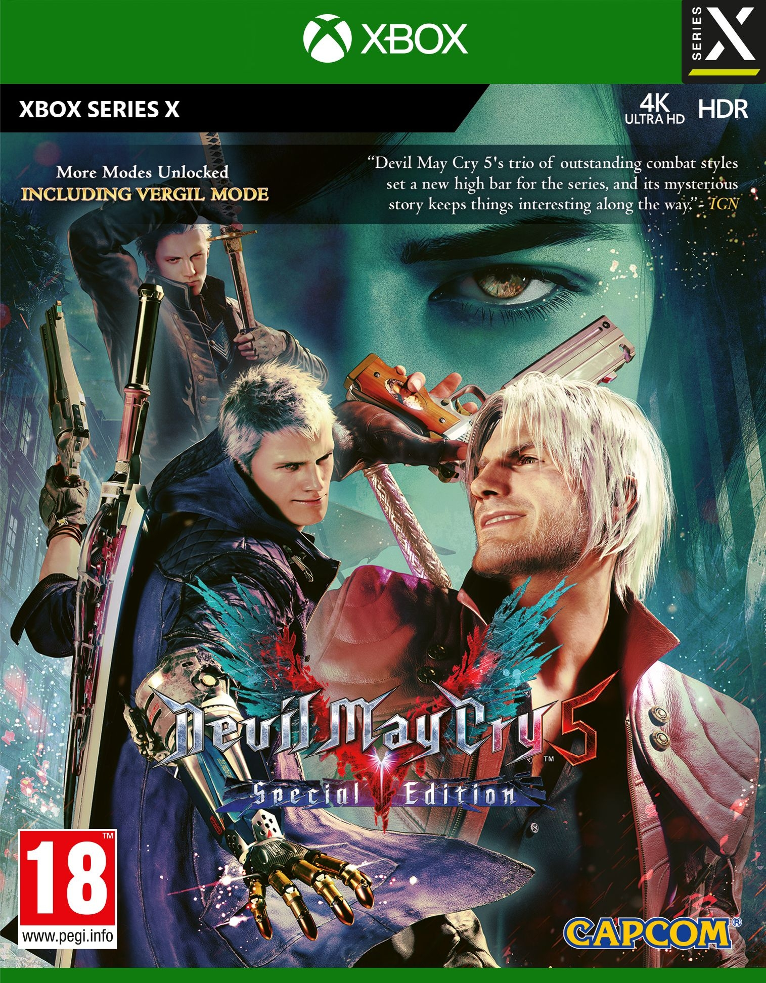 XBOXSeriesX Devil May Cry 5 Special Edition