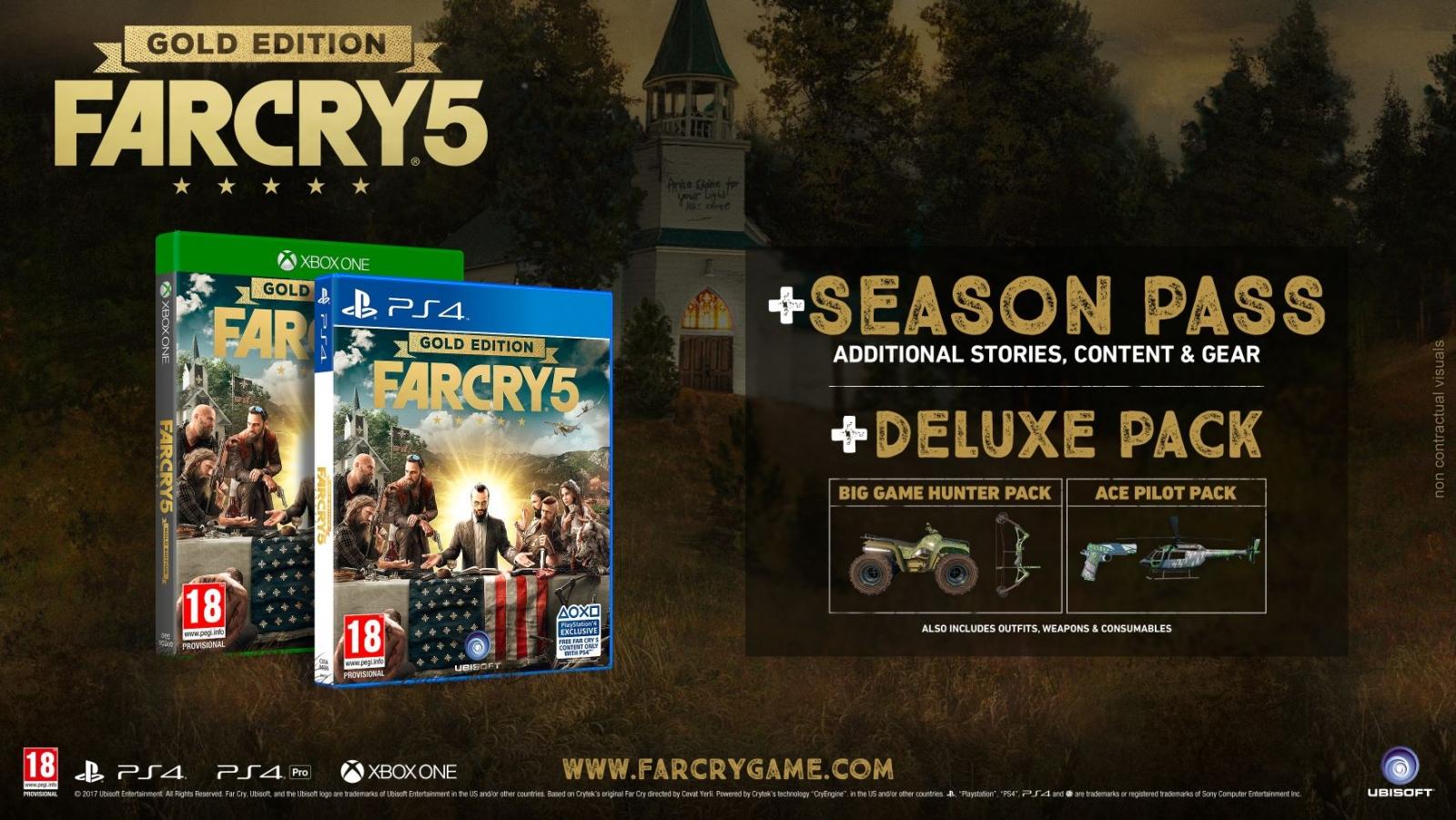 XBOXOne Far Cry 5 Gold Edition