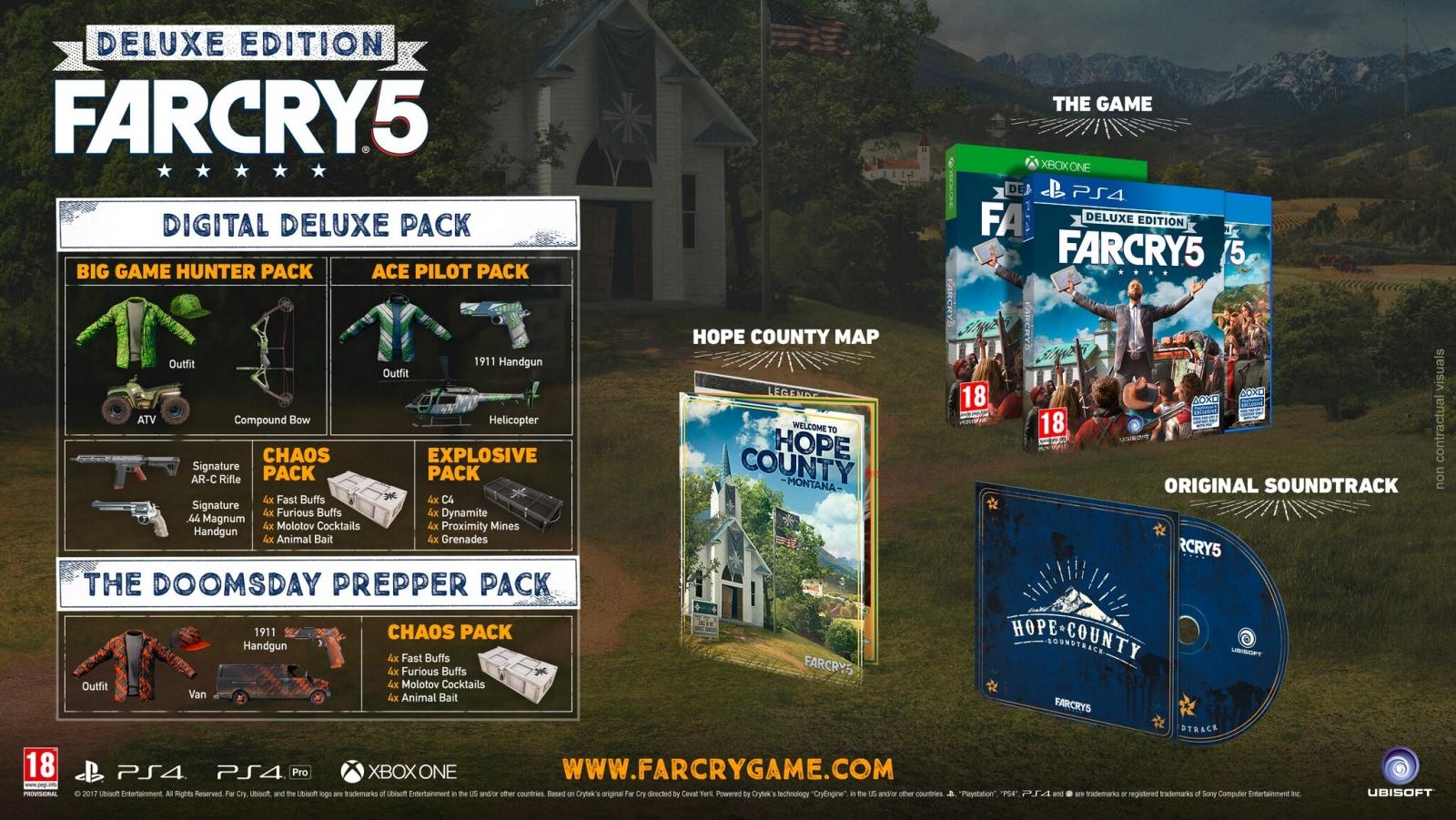 XBOXOne Far Cry 5 Deluxe Edition + Bonus