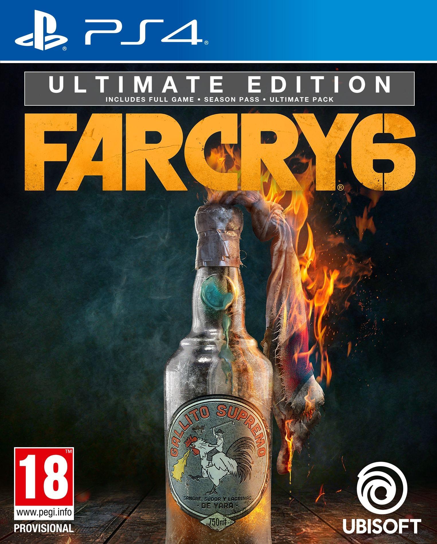 PS4 Far Cry 6 Ultimate Edition + Pre-Order Bonus