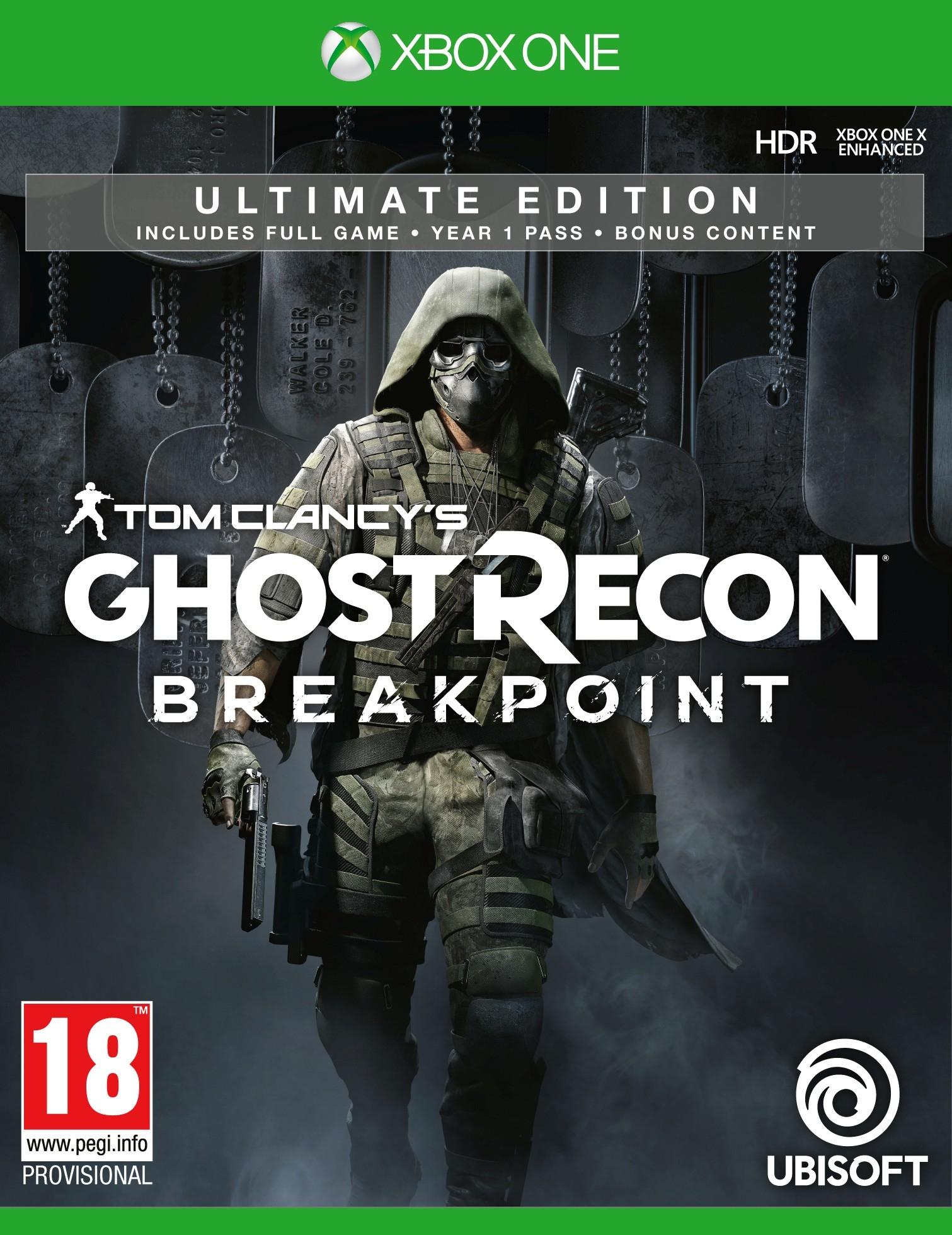 XBOXOne Ghost Recon Breakpoint Ultimate Edition + Pre-Order Bonus