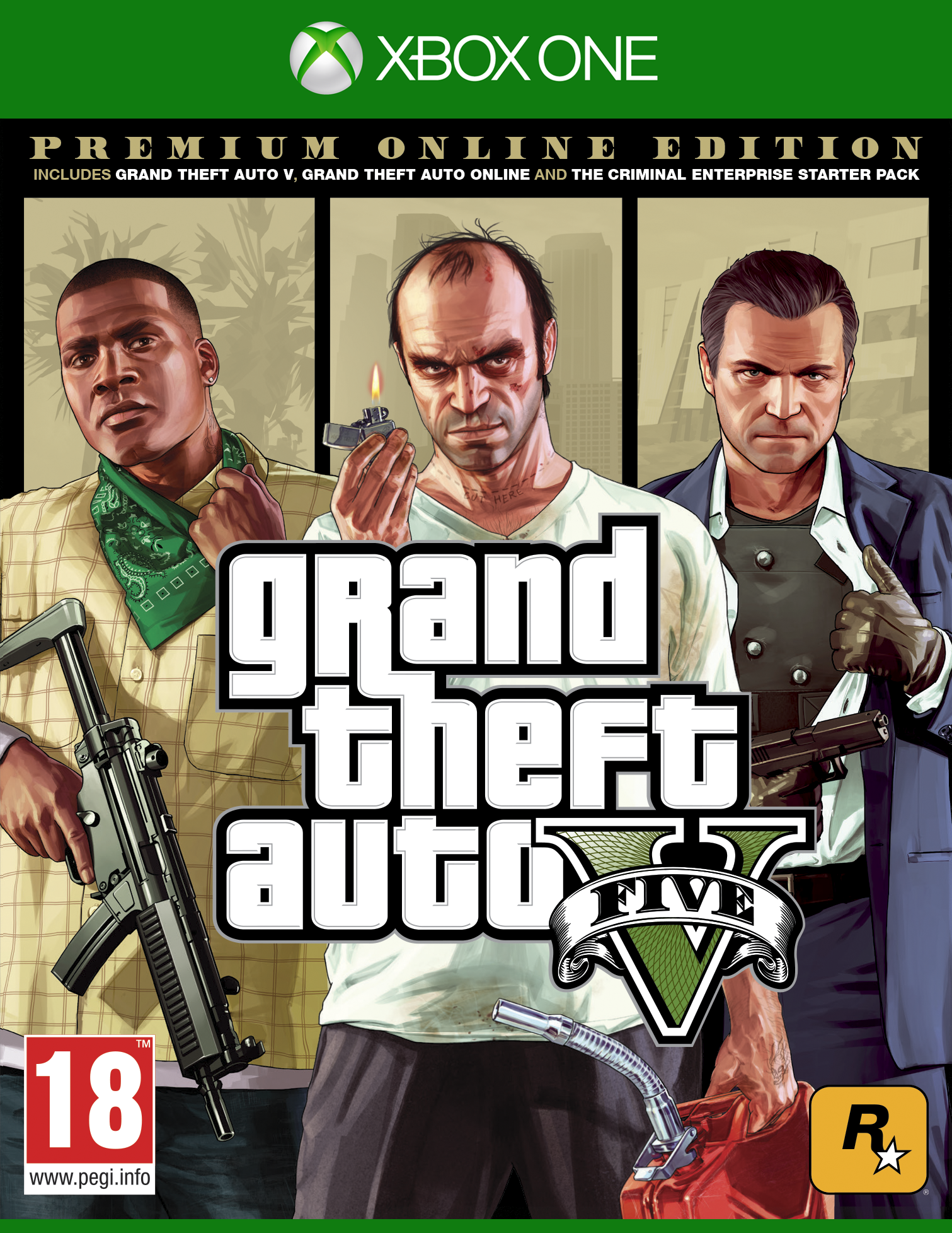 XBOXOne Grand Theft Auto 5 Premium Edition