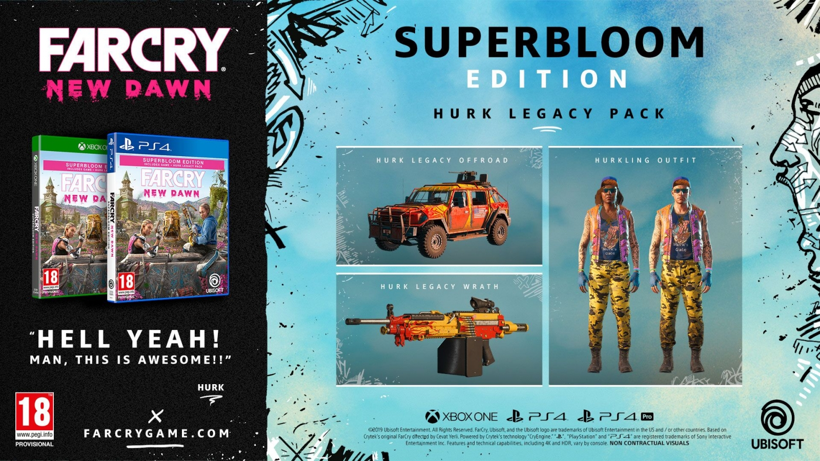 XBOXOne Far Cry New Dawn Superbloom Edition + Bonus