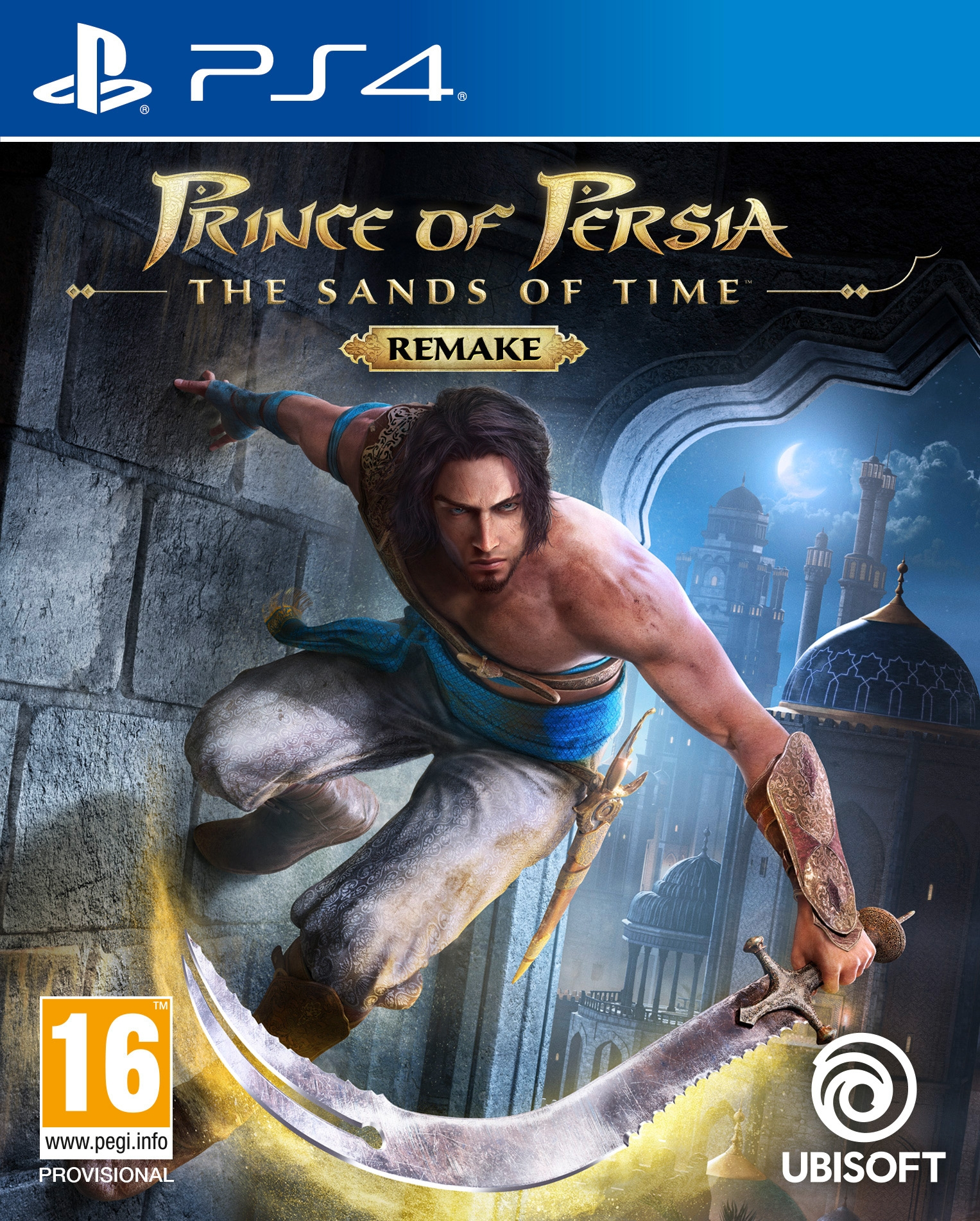 PS4 Prince of Persia: The Sands of Time Remake + Pre-Order Bonus