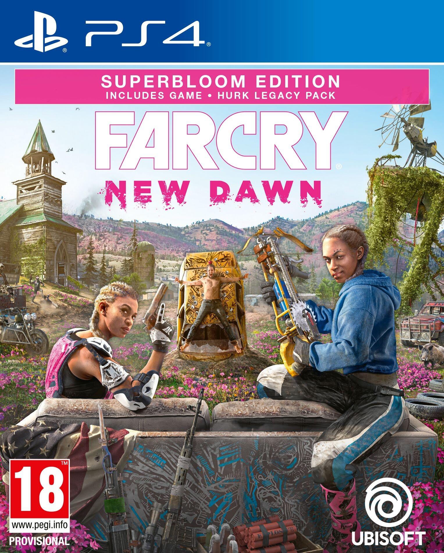 PS4 Far Cry New Dawn Superbloom Edition + Bonus