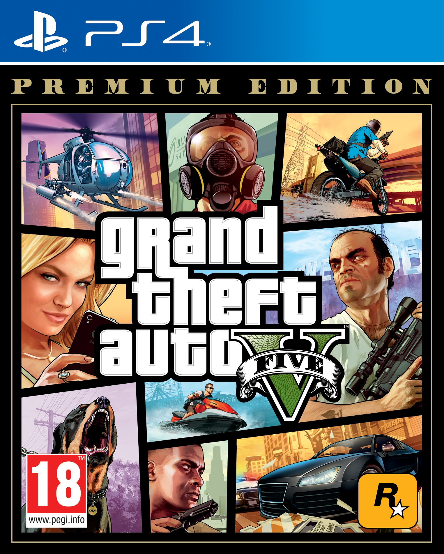 PS4 Grand Theft Auto 5 Premium Edition