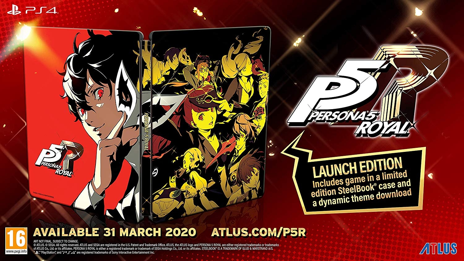 PS4 Persona 5 Royale Launch Edition