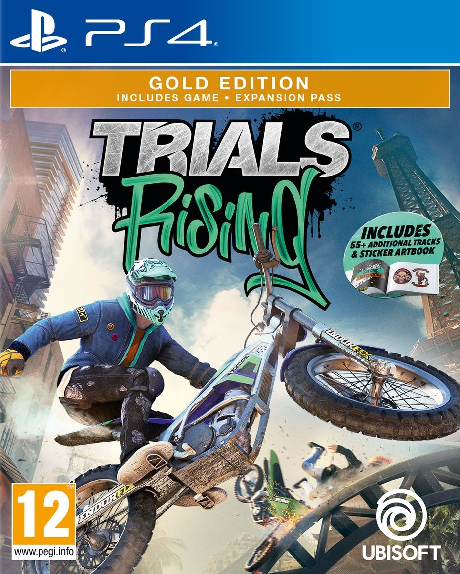 PS4 Trials Rising Gold Edition