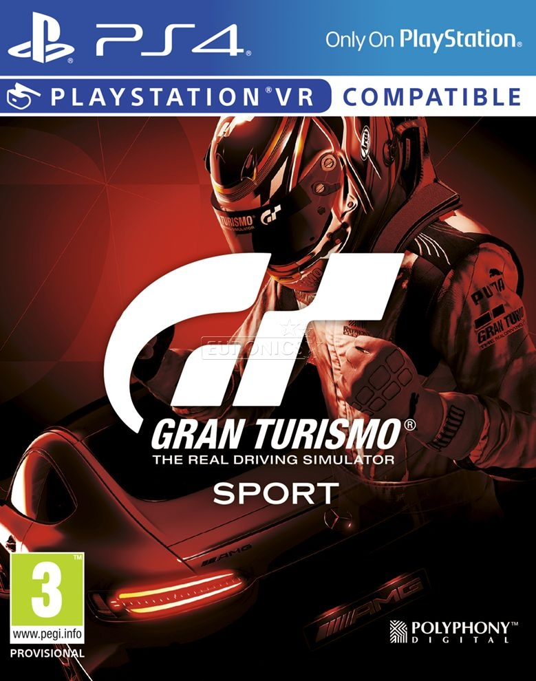 PS4 Gran Turismo Sport (PSVR compatible)