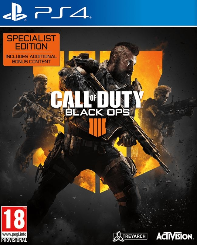 PS4 Call of Duty: Black Ops 4 Spetcialist Edition