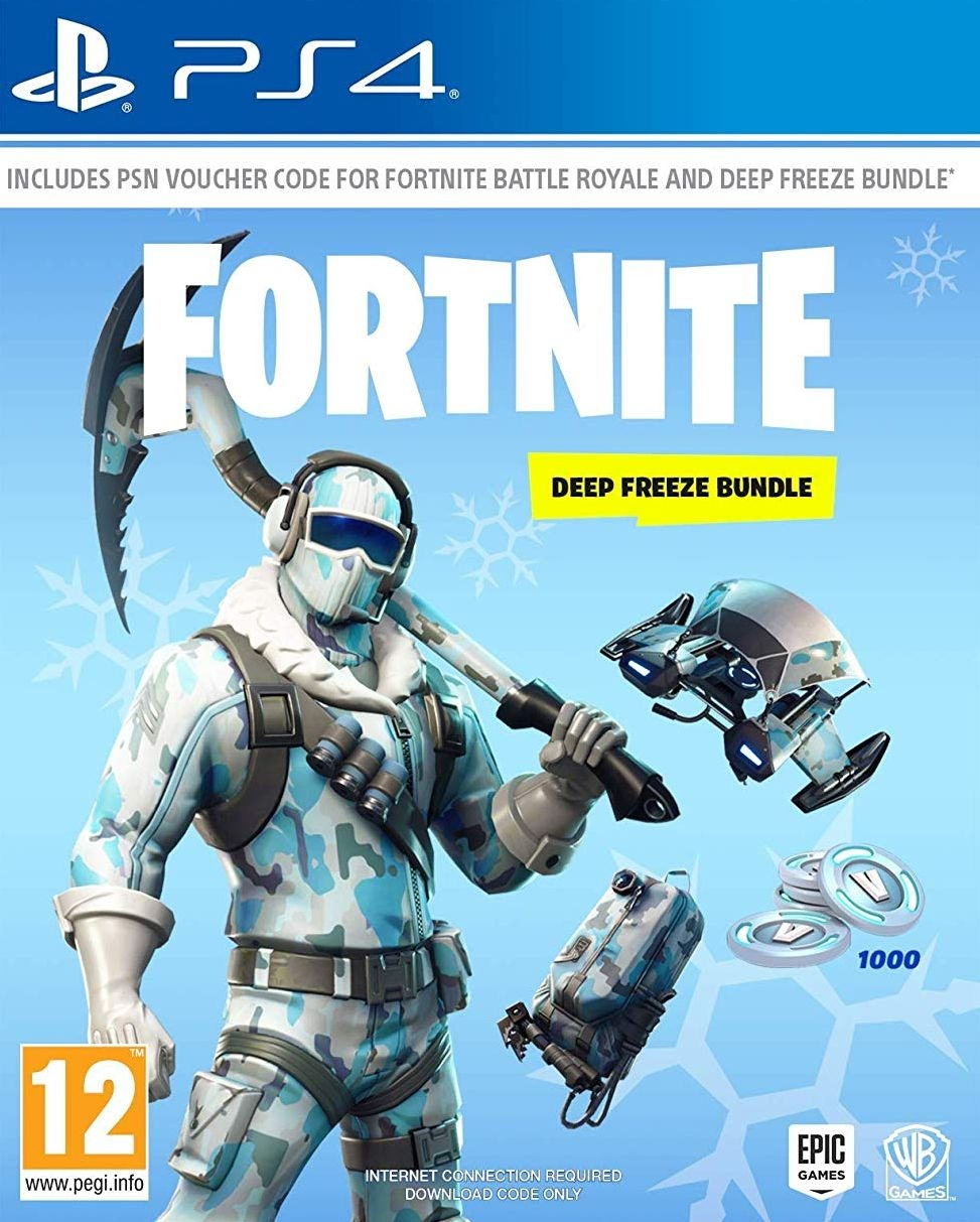PS4 Fortnite - Deep Freeze Bundle