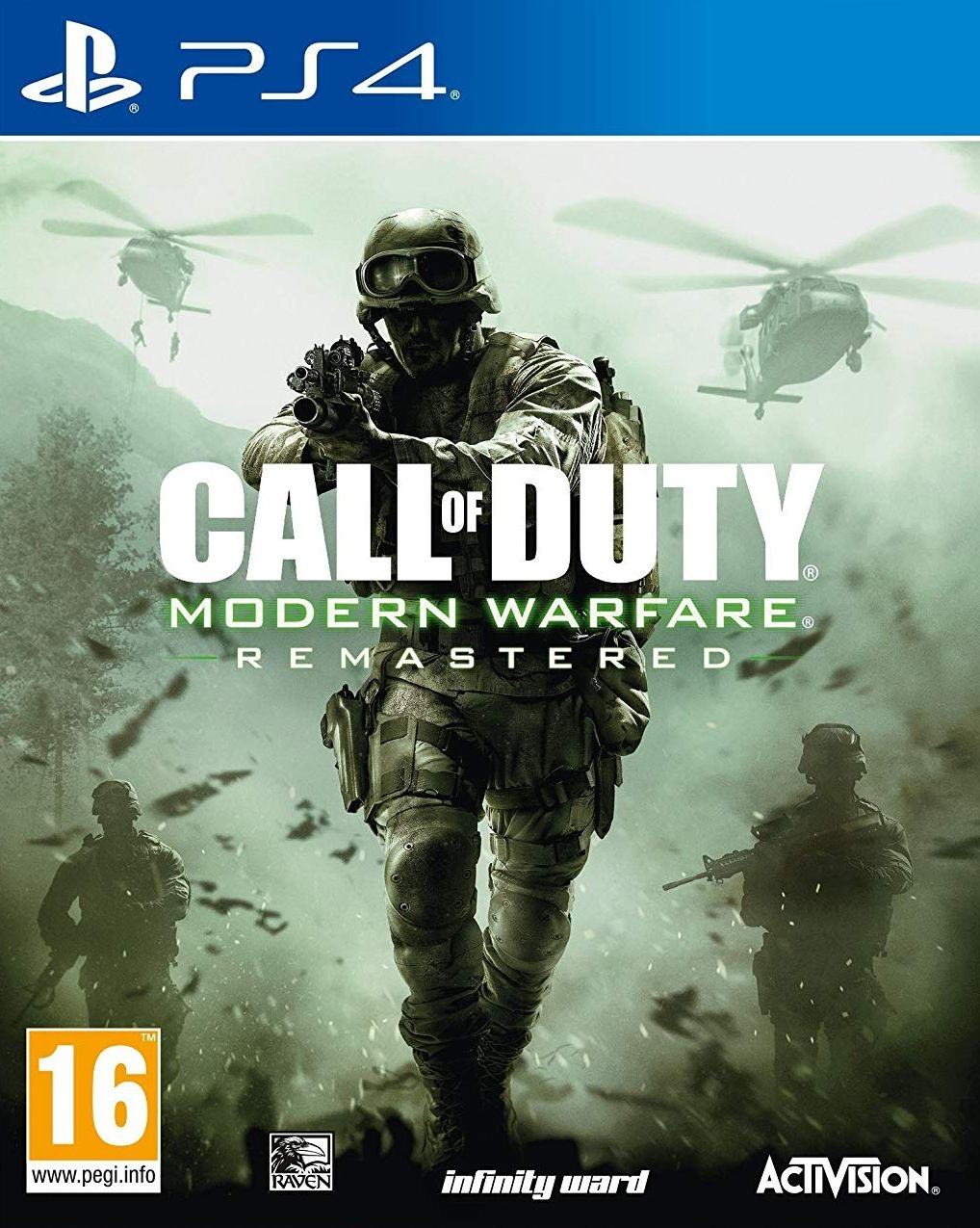 PS4 Call of Duty 4 Modern Warfare - Remastered