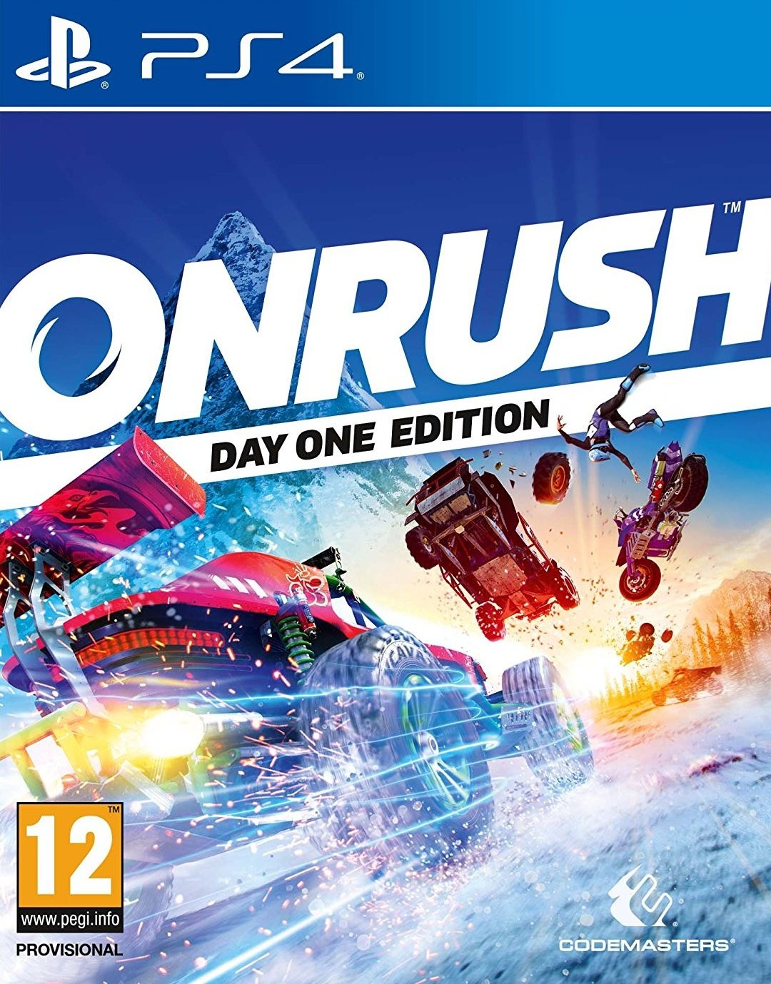 PS4 Onrush Day One Edition