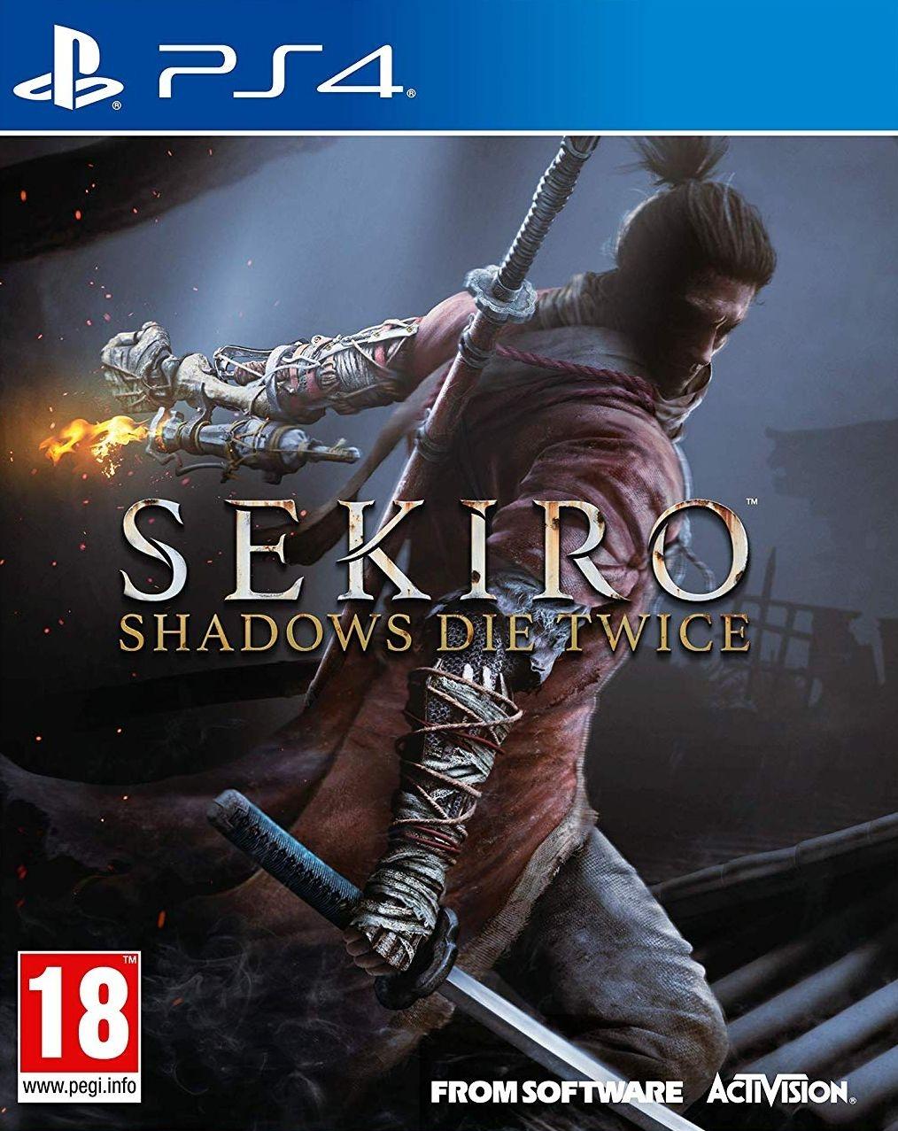PS4 Sekiro Shadows Die Twice
