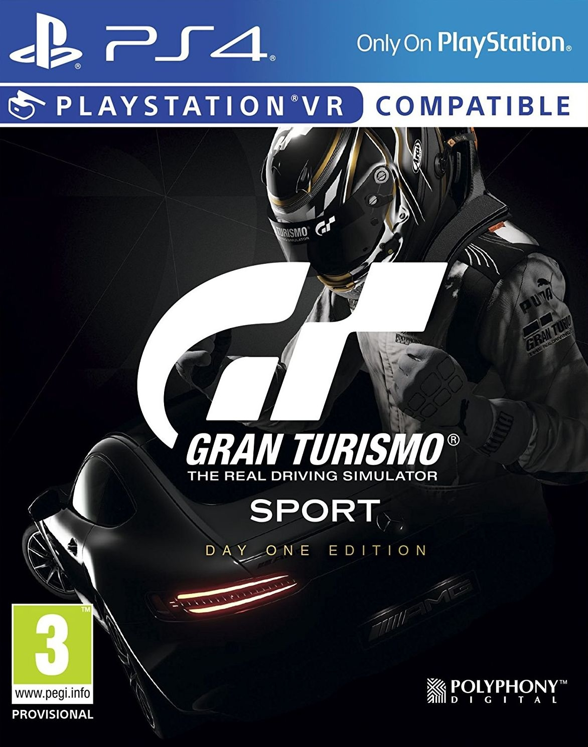 PS4 Gran Turismo Sport Day One Edition (PSVR compatible)
