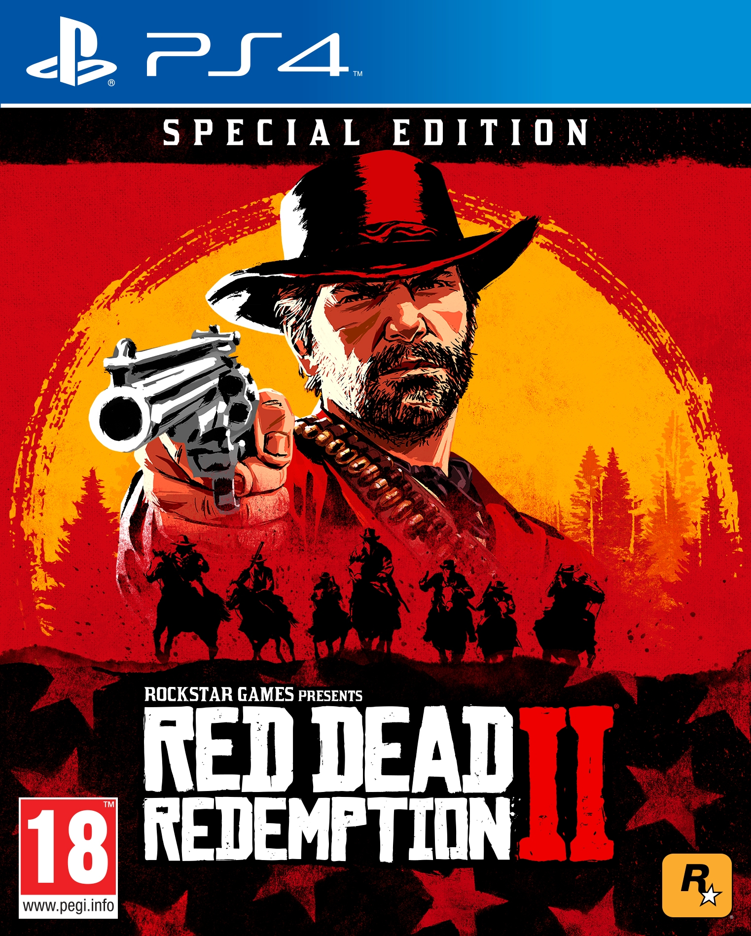 PS4 Red Dead Redemption 2 Special Edition
