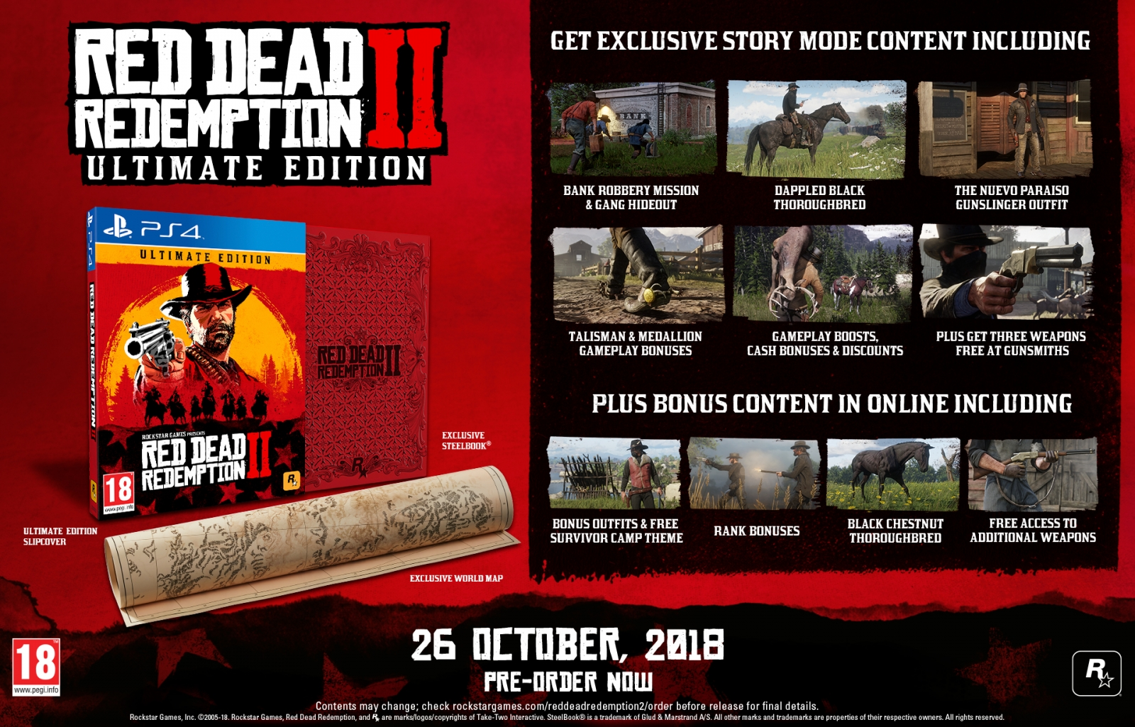 PS4 Red Dead Redemption 2 Ultimate Edition