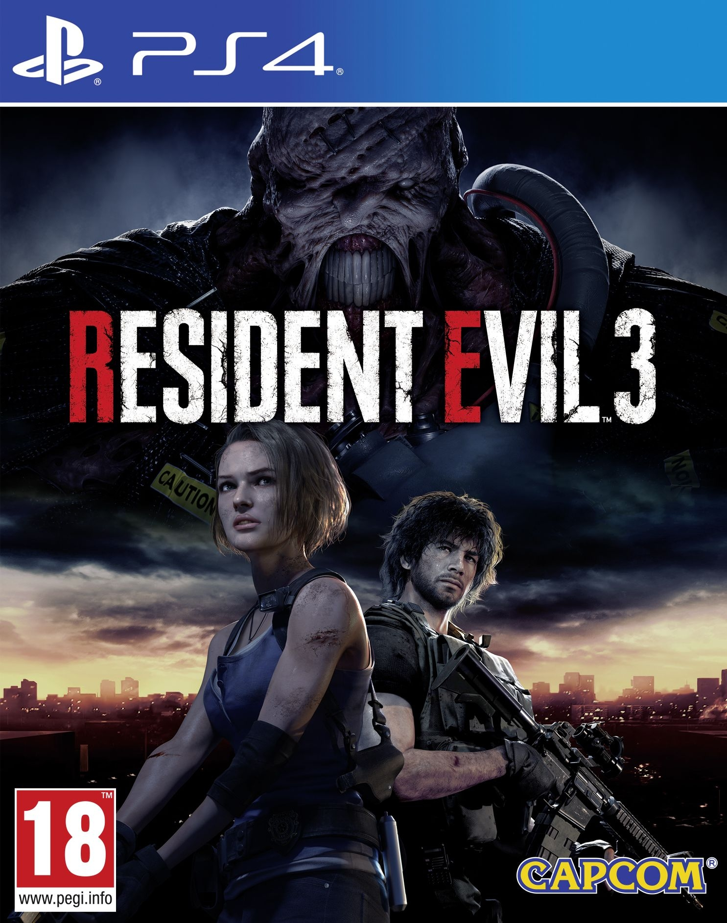 PS4 Resident Evil 3 Collectors Edition