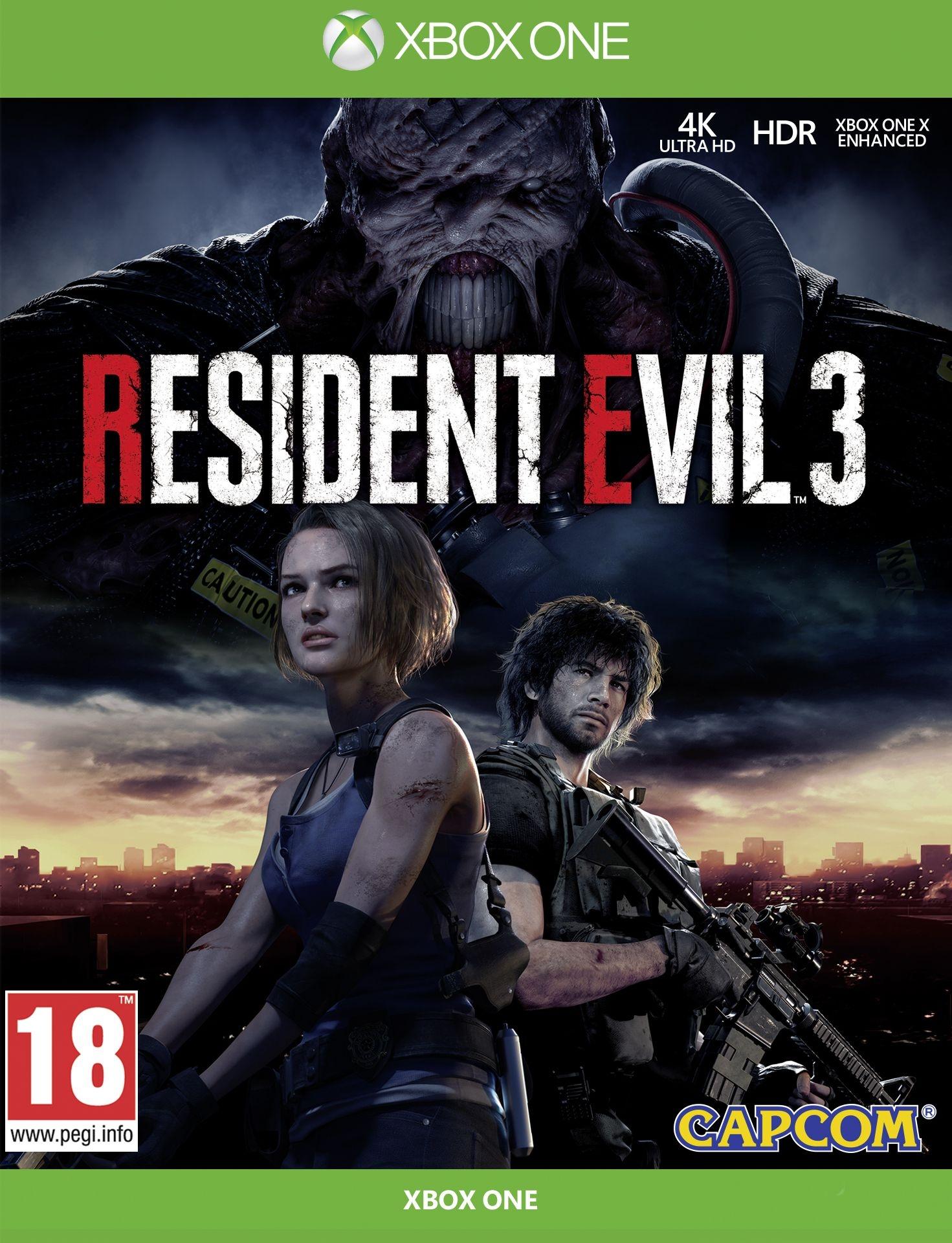 XBOXOne Resident Evil 3