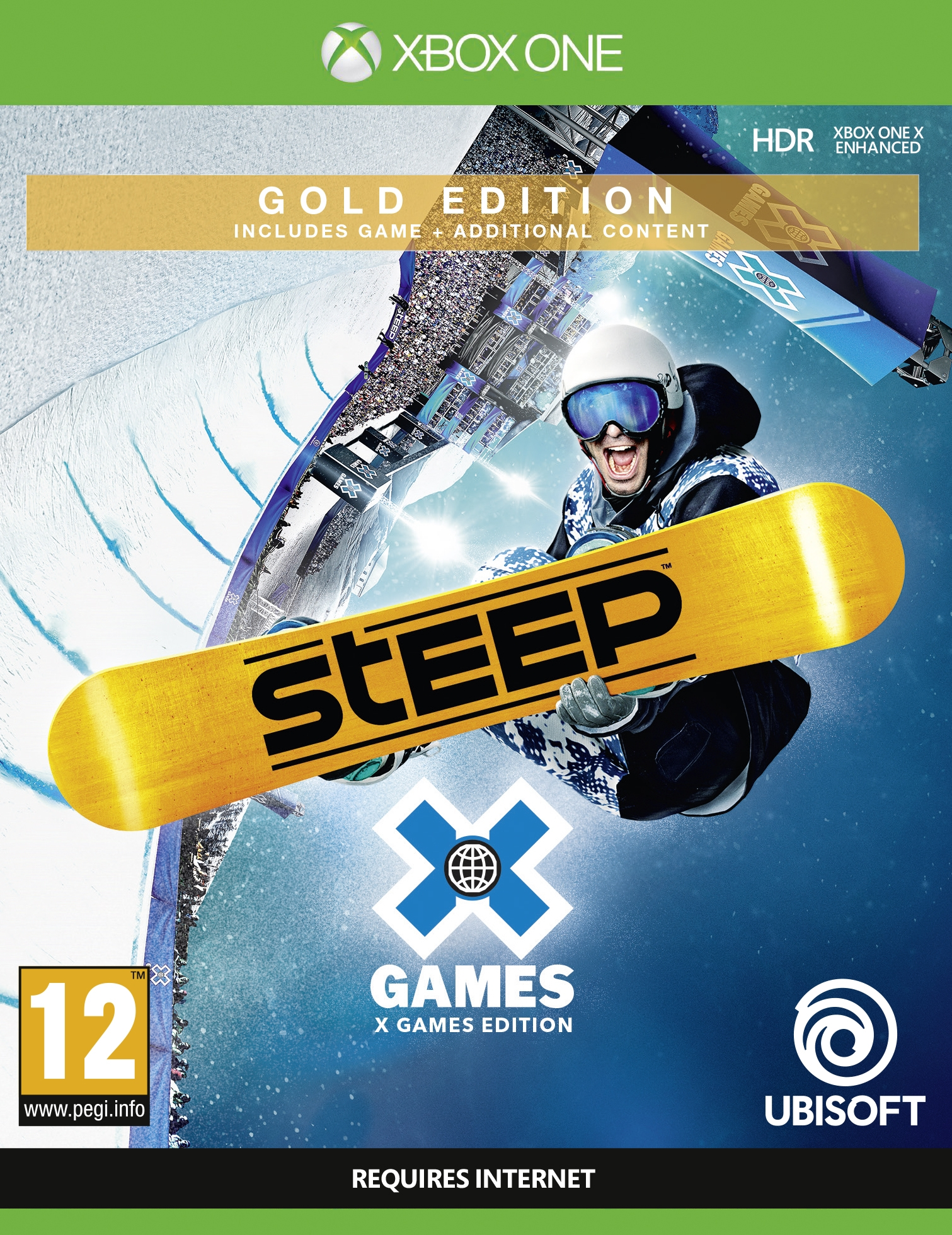 XBOXOne Steep X Games Gold Edition