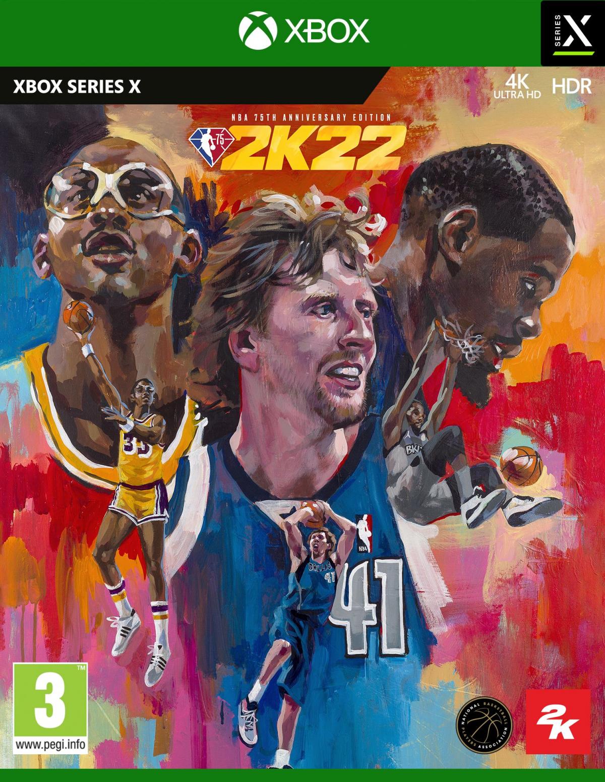 XBOXSeriesX NBA 2K22 75th Anniversary
