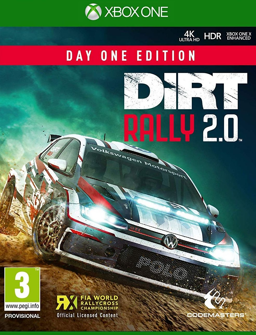 XBOXOne Dirt Rally 2.0 Day One Edition