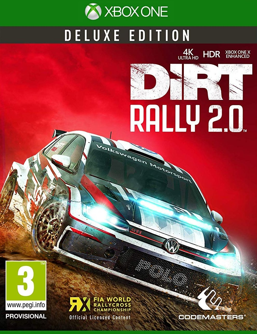 xboxone dirt rally 2 0 deluxe edition codemasters. Black Bedroom Furniture Sets. Home Design Ideas