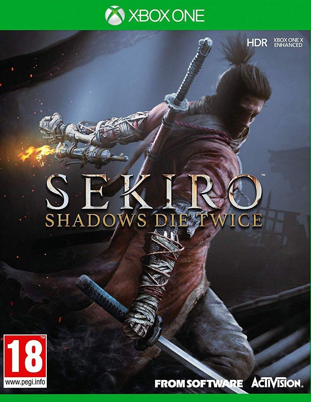 XBOXOne Sekiro Shadows Die Twice