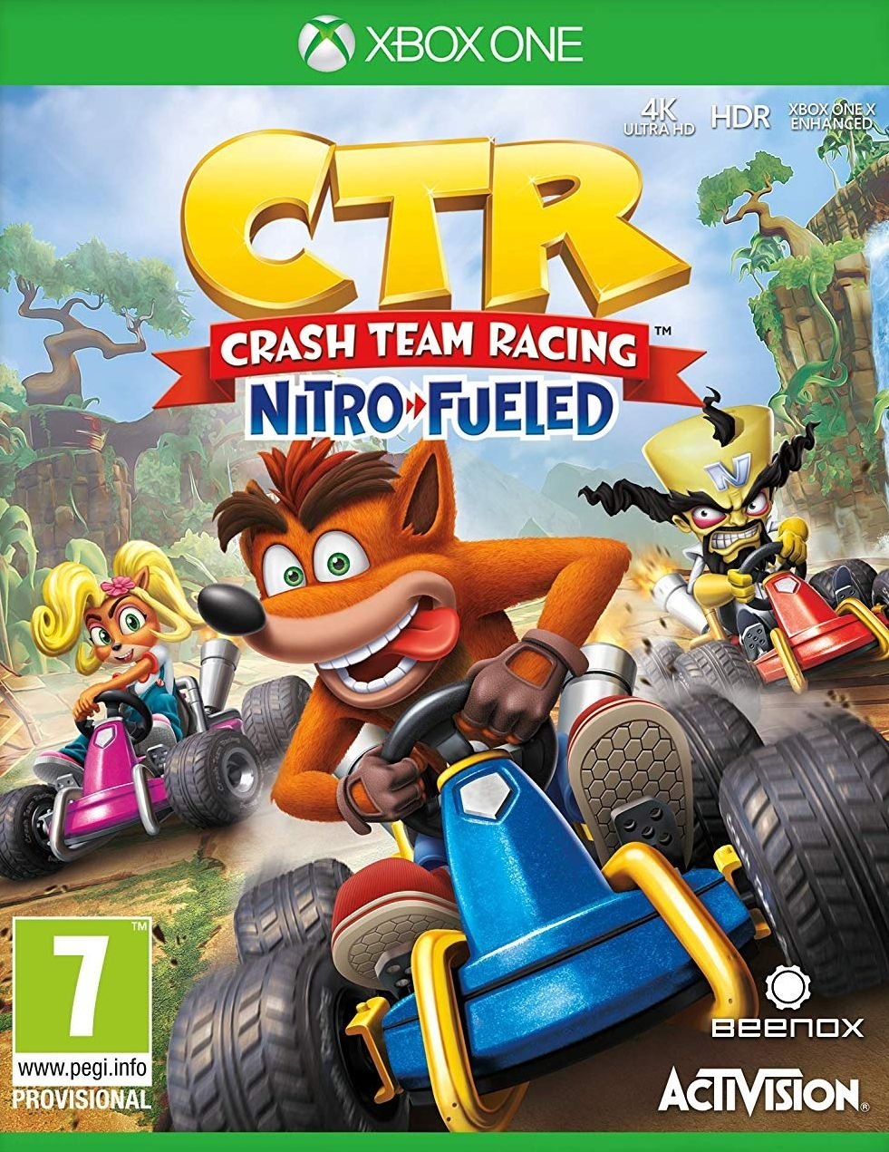 XBOXOne Crash Team Racing Nitro-Fueled