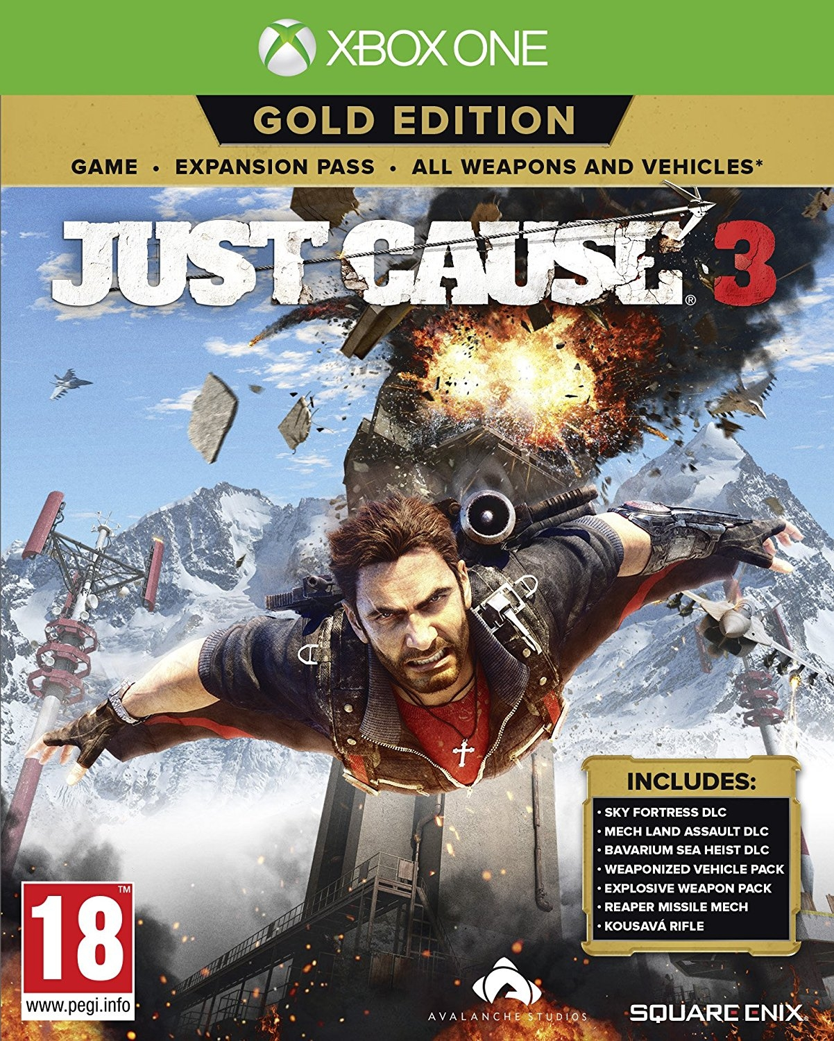 XBOXOne Just Cause 3 Gold Edition